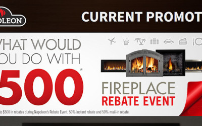 Napoleon Fireplace Rebate Event